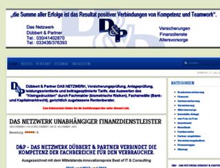duebbert-und-partner.de screenshot