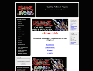 duelingnetworkmagyar.hupont.hu screenshot