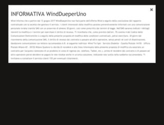 dueperuno.wind.it screenshot