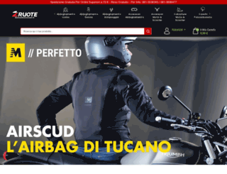 dueruoteaccessori.it screenshot