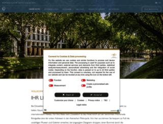 duesseldorf.intercontinental.com screenshot