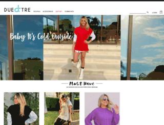duetre.com.br screenshot