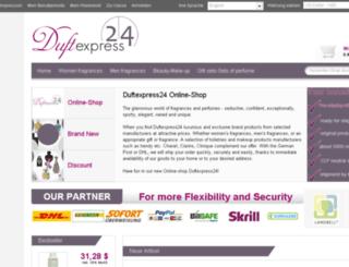 duftexpress24.com screenshot