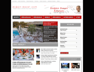 dugun-davet.com screenshot