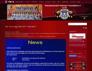 duhlendorf.com screenshot