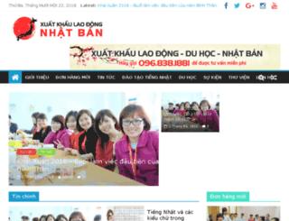duhoc-nhatban.vn screenshot