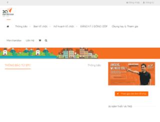 duhoc.hn-ams.org screenshot