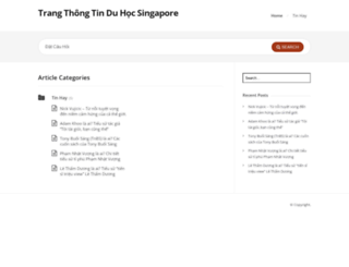 duhocsingapore.net screenshot