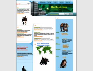 duhost.com screenshot