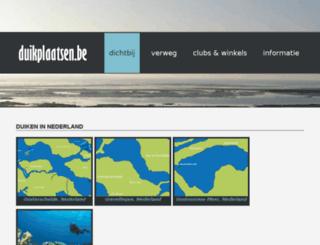 duikplaatsen.com screenshot