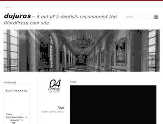 dujuros.wordpress.com screenshot