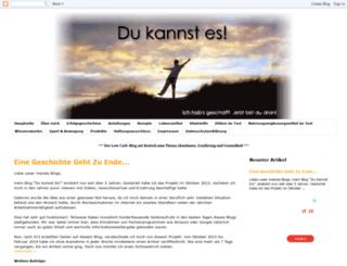 dukannstes.blogspot.de screenshot