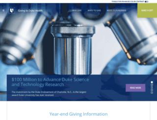 dukeforward.dukemedicine.org screenshot