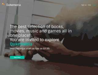 dukemedia.net screenshot