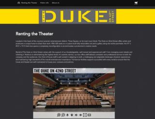dukeon42.org screenshot