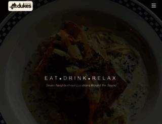 dukeschowderhouse.com screenshot