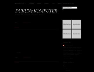 dukunekomputer.blogspot.com screenshot