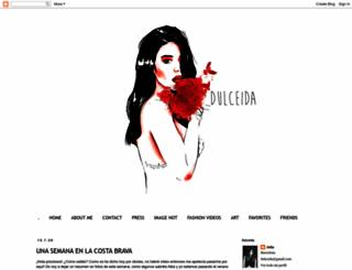 dulceida.com screenshot