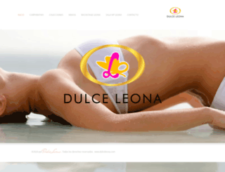 dulceleona.com screenshot