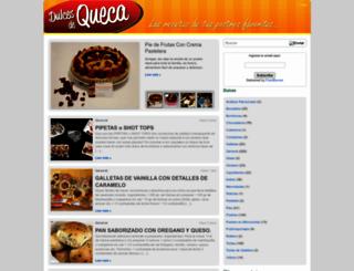 dulcesdequeca.com screenshot