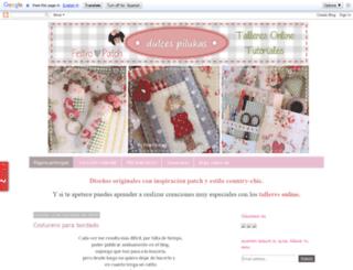 dulcespilukas.blogspot.com.es screenshot