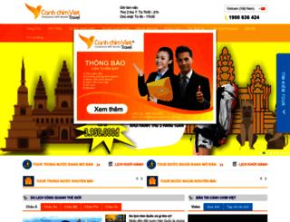dulichcanhchimviet.com screenshot