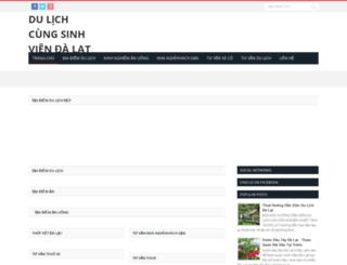 dulichcungsinhvien.com screenshot