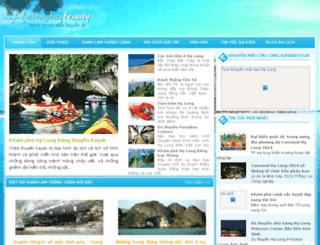 dulichhalong.org screenshot