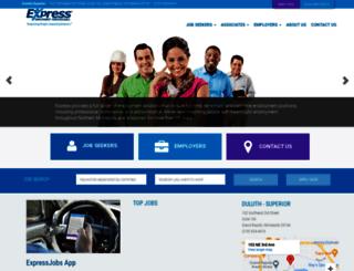 duluthmn.expresspros.com screenshot