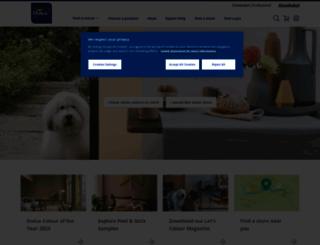 dulux.com screenshot