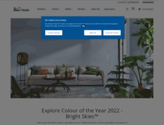dulux.trade-decorating.co.uk screenshot