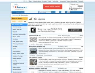 dum-zahrada.cbazar.cz screenshot