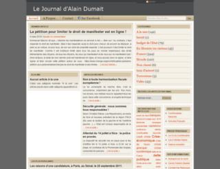 dumait.fr screenshot