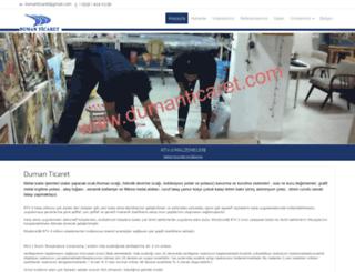 dumanticaret.com screenshot