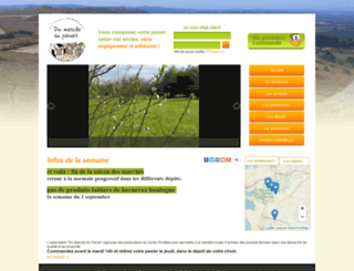 dumarcheaupanier.com screenshot