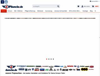 dumcke.de screenshot