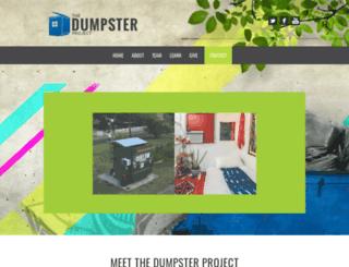 dumpsterproject.org screenshot