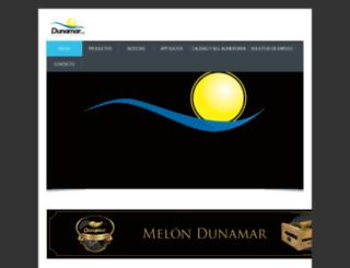 dunamar.es screenshot