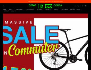 dunbarcycles.com screenshot