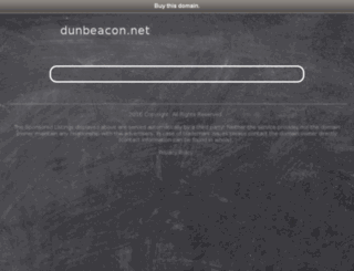 dunbeacon.net screenshot