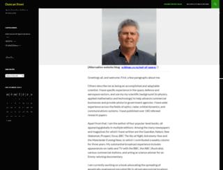 duncansteel.com screenshot