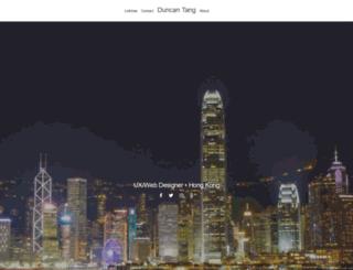 duncantang.com screenshot