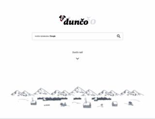 dunco.sk screenshot