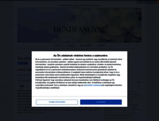 dundiangyal.cafeblog.hu screenshot