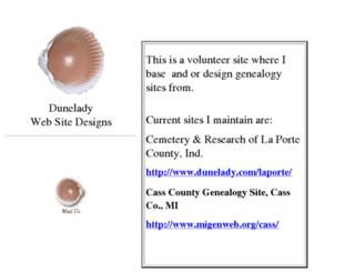 dunelady.com screenshot