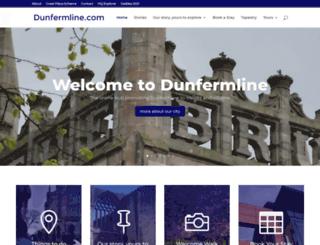 dunfermline.com screenshot