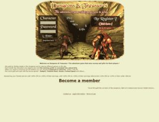 dungeons-treasures.com screenshot