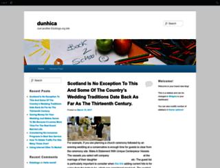 dunhica.edublogs.org screenshot