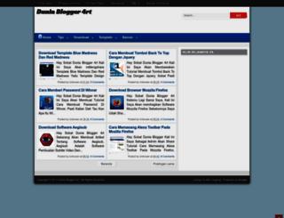 duniablogger-id.blogspot.com screenshot