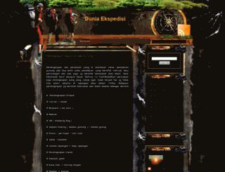 duniaekspedisi.blogspot.com screenshot